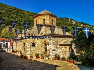 Evagelistria Monastery, Villa Christina Skiathos | Accommodation in Skiathos | Hotels in Skiathos | Apartments in Skiathos | Skiathos Island | Greece